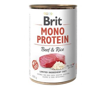 Brit Mono Protein Beef&Rice Dog