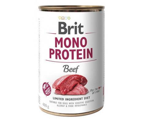 Brit Mono Protein Beef Dog k влажный корм для собак с говядиной