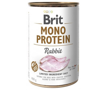 Brit Mono Protein Dog Rabbit