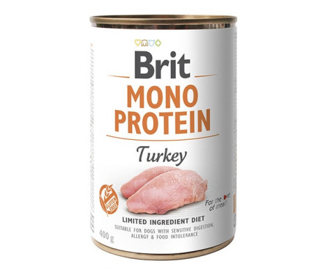 Brit Mono Protein Turkey Dog