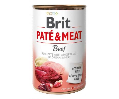 Brit Paté & Meat Dog Adult Beef