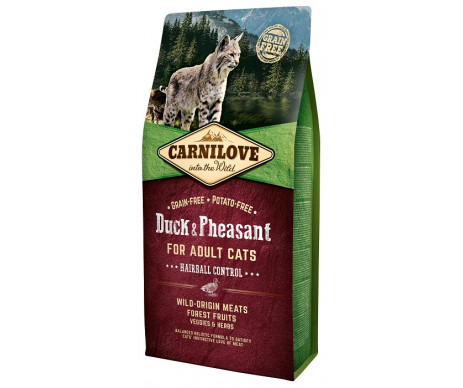 Carnilove Cat Adult Hairball Controll