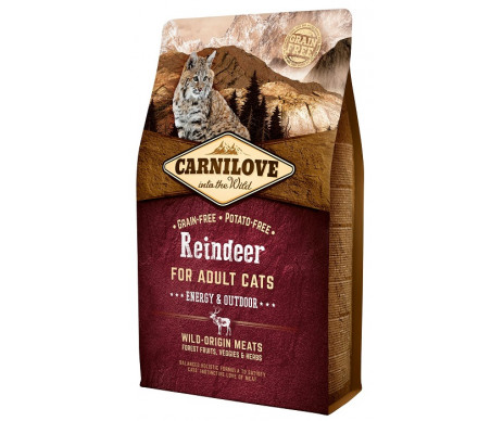 Carnilove Cat Adult Energy&Outdoor
