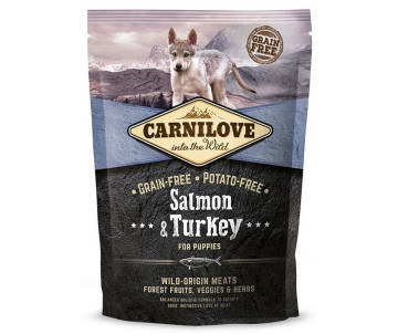 Carnilove Dog Puppy Salmon Turkey