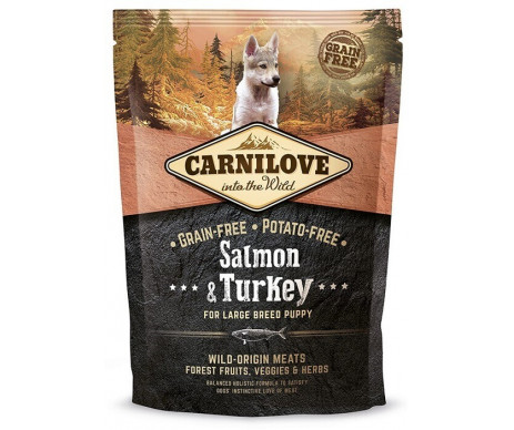 Carnilove Puppy Large Breed Salmon&Turkey