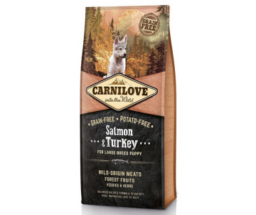 Carnilove Dog Puppy Large Breed Salmon Turkey