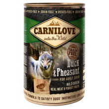 Carnilove Dog Adult Wild Meat Duck Pheasant