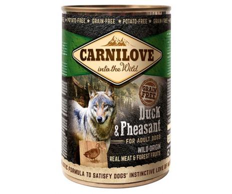 Carnilove Wild Meat Duck&Pheasant с уткой и фазаном влажный корм для собак