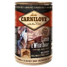Carnilove Lamb&Wild Boar с ягненком и кабаном влажный корм для собак