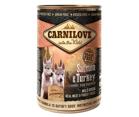 Carnilove Dog Puppy Wild Meat Salmon Turkey