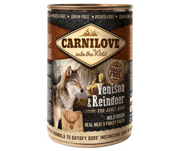 Carnilove Dog Adult Wild Meat Venison Reindeer