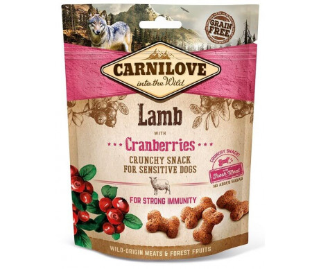 Carnilove Dog Semi Moist Lamb & Cranberries