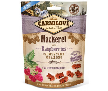 Carnilove Dog Semi Moist Mackerel Raspberries