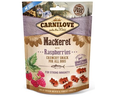 Carnilove Dog Semi Moist Mackerel Raspberries