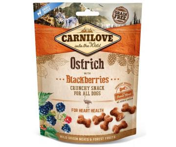 Carnilove Dog Semi Moist Ostrich Blackberries