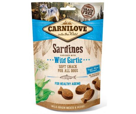 Carnilove Dog Semi Moist Sardines Wild Garlic