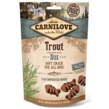 Carnilove Dog Semi Moist Trout Dill
