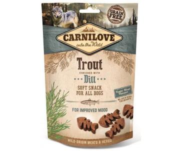 Carnilove Dog Semi Moist Trout & Dill