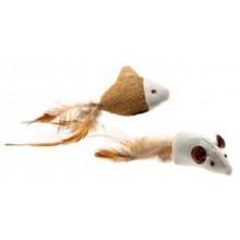 Comfy Игрушка мышка + рыбка для котов