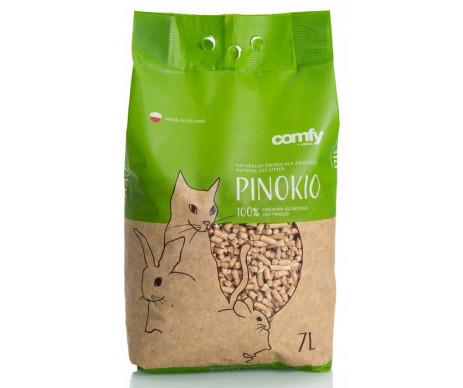 COMFY PINOKIO Древесный наполнитель для кошачьего туалета