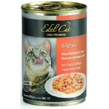 Edel Cat Adult 3 Types Of Poultry Meat Gravy