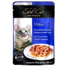 Edel Cat Salmon and Trout in sauce