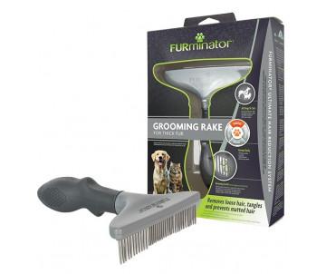 FURminator NEW Грабли для собак с вращающимися зубцами