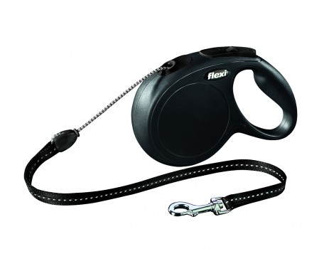 Flexi NEW CLASSIC Black Рулетка Трос