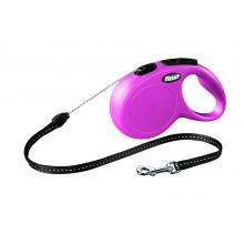 Flexi NEW CLASSIC Pink Рулетка Трос