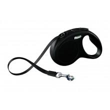 Flexi NEW CLASSIC Black Рулетка Лента