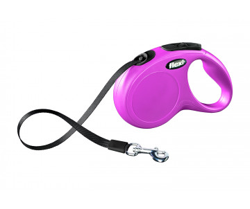 Flexi NEW CLASSIC Pink Рулетка Лента