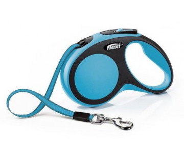 Flexi NEW COMFORT BLUE Рулетка для собак Лента
