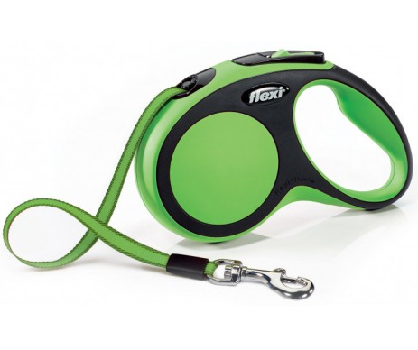 Flexi NEW COMFORT GREEN Рулетка для собак Лента