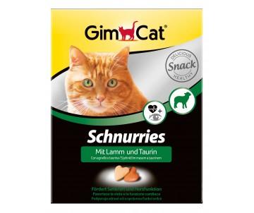 GimCat Schnurries Витаминные сердечки для кошек