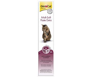 GimCat Malt-soft Extra паста для выведения шерсти и улучшения моторики желудка