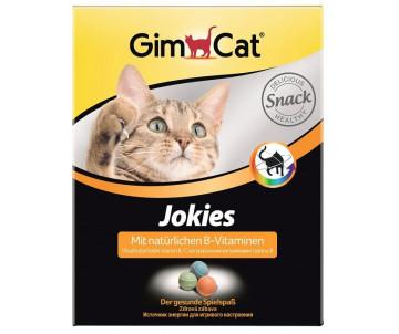 GimCat Jokies лакомства с витамином B для улучшения обмена веществ, аппетита