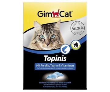 GimCat TOPINIS форель витамины для улучшения обмена веществ, микрофлоры кишечника
