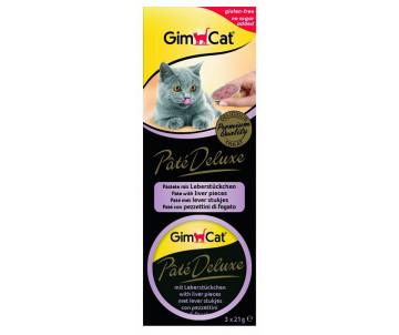 GimCat Pate Deluxe 3х21g паштет для кошек