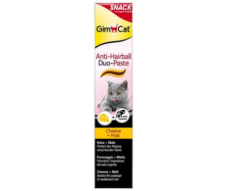 GimCat DUO-паста для выведения шерсти + курица или сыр