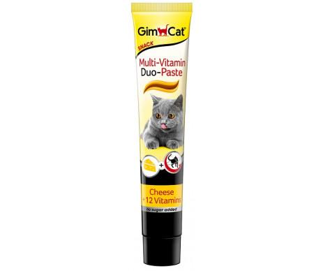 GimCat Multi-Vitamin Duo Paste паста мультивитамин сыр или тунец