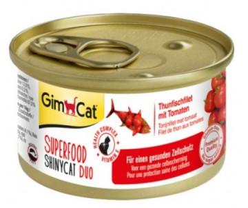 GimCat Shiny Superfood Tuna Tomato