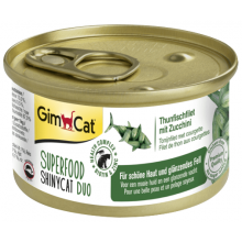 GimCat Shiny Cat Superfood tuna and zucchini