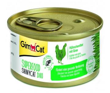 GimCat Shiny Superfood Chicken Grass