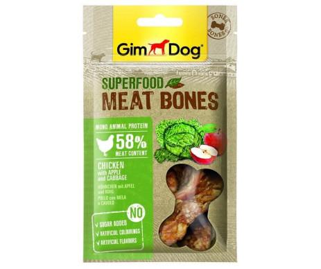 GimDog Superfood для собак Мясные косточки, 70g