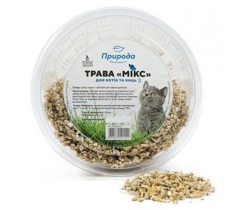 Природа Трава быстрорастущая для котов
