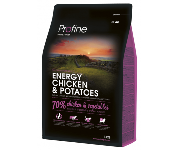 Profine Dog Adult Energy Chicken Potatoes
