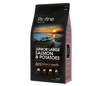 Profine Dog Junior Large Breed Salmon Potatoes