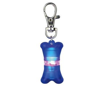 Trixie Брелок-фонарик с адресовкой мигающий для собак