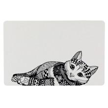"""Trixie """"Zentangle"""" Коврик под миску для кошек"""