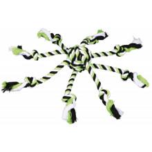 Trixie Мяч-канат с веревками для собак